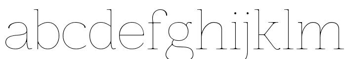 Znikomit Font LOWERCASE