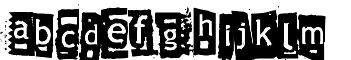 Znort3000 Font UPPERCASE