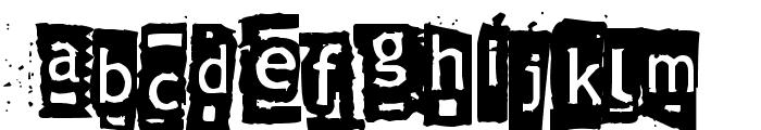 Znort3000 Font LOWERCASE