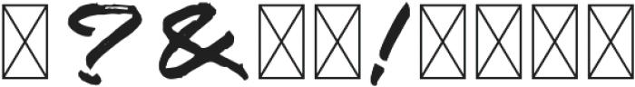 Zombie Carshel Regular otf (400) Font OTHER CHARS
