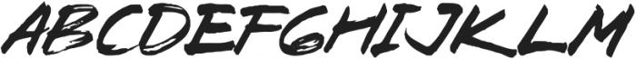 Zombie Carshel Regular otf (400) Font UPPERCASE