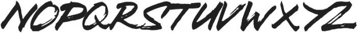Zombie Carshel Regular otf (400) Font LOWERCASE