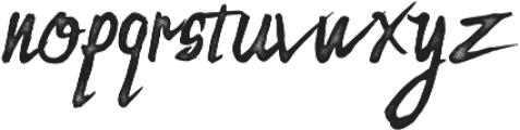 Zombie Dust otf (400) Font LOWERCASE