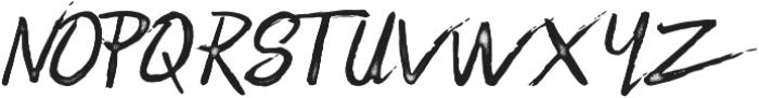 Zombie Dust ttf (400) Font UPPERCASE