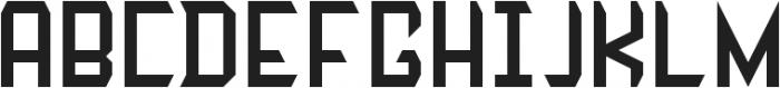Zombie Gothic FS ttf (400) Font UPPERCASE