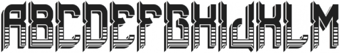 ZombieFont TextureShadow otf (400) Font UPPERCASE