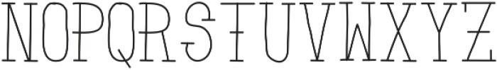 ZombieSunrise ttf (400) Font UPPERCASE
