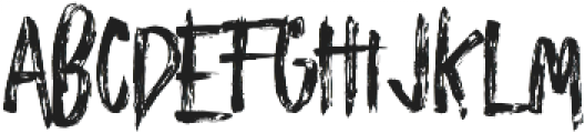 Zombies otf (400) Font UPPERCASE
