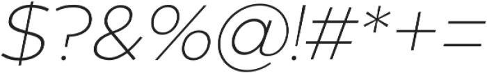Zona Pro otf (100) Font OTHER CHARS