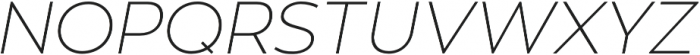 Zona Pro otf (100) Font UPPERCASE