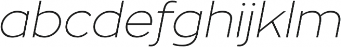 Zona Pro otf (100) Font LOWERCASE