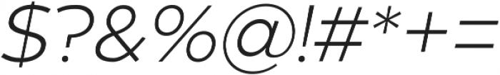 Zona Pro otf (300) Font OTHER CHARS