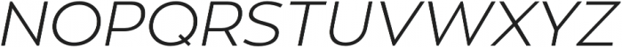 Zona Pro otf (300) Font UPPERCASE