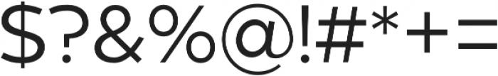 Zona Pro otf (400) Font OTHER CHARS