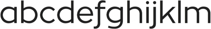 Zona Pro otf (400) Font LOWERCASE