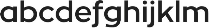Zona Pro otf (600) Font LOWERCASE