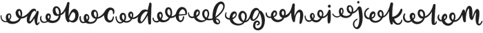 Zooky Squash Left Swash otf (400) Font LOWERCASE