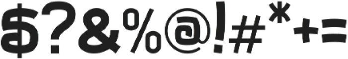 Zooma otf (400) Font OTHER CHARS