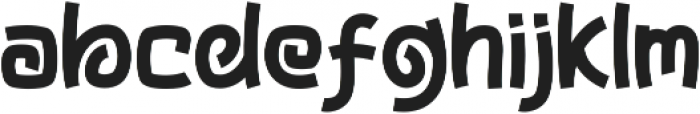 Zooma otf (400) Font LOWERCASE