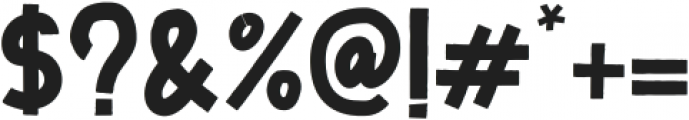 Zoombold Solid ttf (700) Font OTHER CHARS