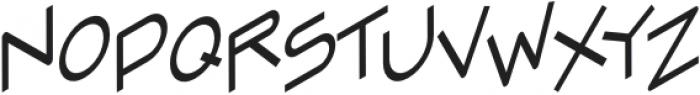 Zoomer Regular otf (400) Font LOWERCASE