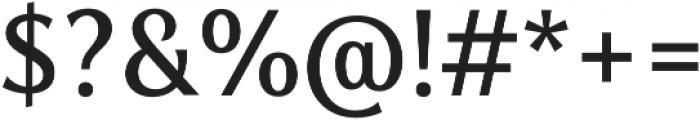Zoran otf (400) Font OTHER CHARS