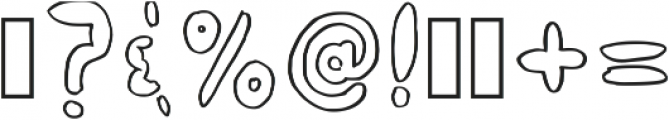Zorropha Regular otf (400) Font OTHER CHARS