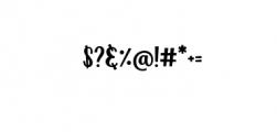 Zoocute-Regular.ttf Font OTHER CHARS