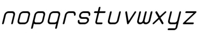 Zolan Mono BTN Oblique Font LOWERCASE