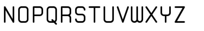 Zolan Mono BTN Regular Font UPPERCASE