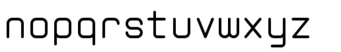 Zolan Mono BTN Regular Font LOWERCASE