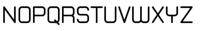 Zolano Sans BTN Regular Font UPPERCASE
