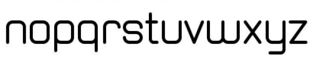 Zolano Sans BTN Regular Font LOWERCASE