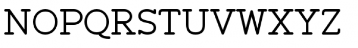 Zolano Serif BTN Regular Font UPPERCASE