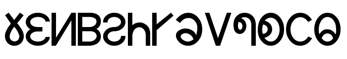 ZOMI Font LOWERCASE