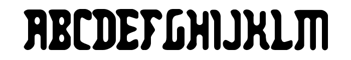 Zodillin-Regular Font UPPERCASE