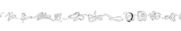 Zoeknots Font UPPERCASE