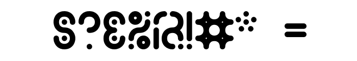 Zoetrope -BRK- Font OTHER CHARS