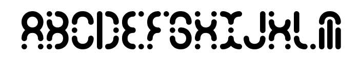 Zoetrope -BRK- Font UPPERCASE