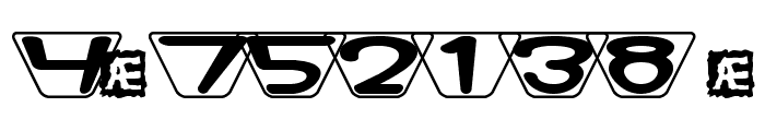 Zoidal BRK Font OTHER CHARS