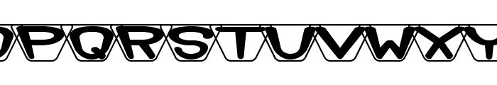 Zoidal BRK Font UPPERCASE