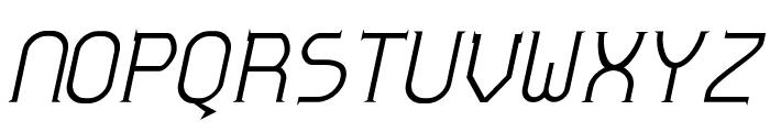 Zoloft-Italic Font UPPERCASE