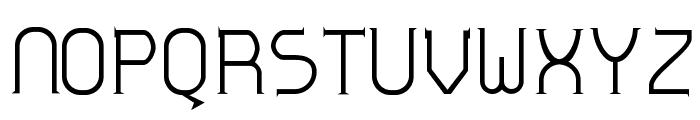 Zoloft Normal Font UPPERCASE