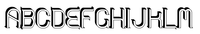Zoloft Sideffex Font UPPERCASE