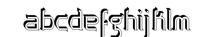 Zoloft Sideffex Font LOWERCASE