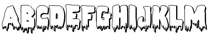 Zombie Control 3D Font UPPERCASE