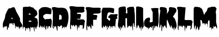 Zombie Control Expnaded Font UPPERCASE