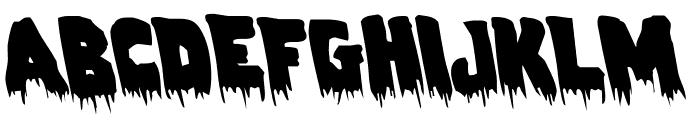 Zombie Control Leftalic Font UPPERCASE