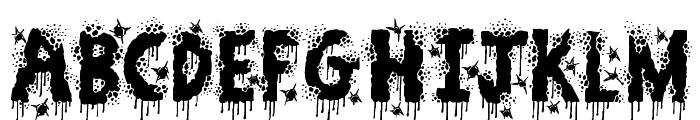 Zombie Slayer Font UPPERCASE