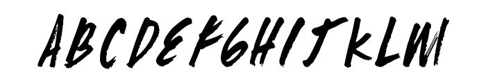 ZombieChecklist Font UPPERCASE
